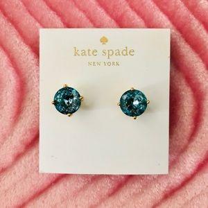 Kate Spade Grace Blue Earrings